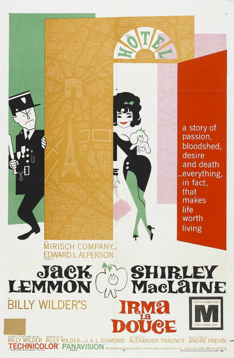 Irma La Douce (Movie, 1963) | STATIC MASS EMPORIUM