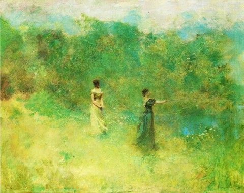 Thomas-Wilmer-Dewing-xx-Summer-xx-Private-Collection
